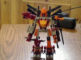 Kre-O Predaking with Rampage added by illiniguy34