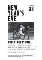 New Year's Eve in Melbourne - Robert Burns Hotel by beanroy