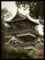 Hiroshima Castle by AndrewMarston