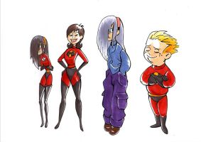 Incredibles by cizer
