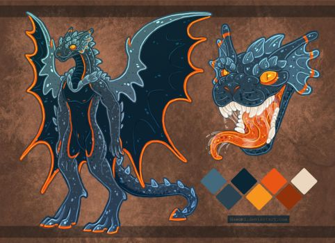 Gargoyle Anthro Adopt by Naeomi