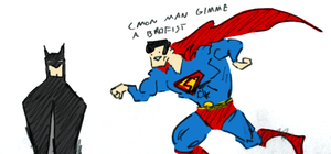 SUPERMAN REQUIRES BROFISTS by Reier