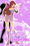 Chand HalloWinx - Birthday gift for Zuza by PVTeam
