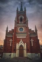 The Cathedral. Kharkiv 2012 by RavenaJuliart