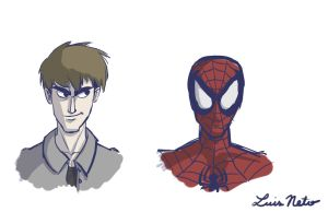 Peter Parker - Spidey Quickie by Spidersaiyan
