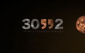 Thirty Seconds To Mars Wall by Thvg