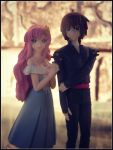 Lacus and Kira by sentry-sight