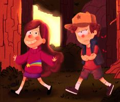 Welcome to Gravity Falls by Bruna-Chan