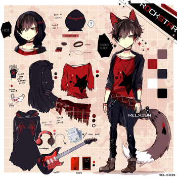 [AUCTION* CLOSED]Lineheart*4 by Relxion-kun