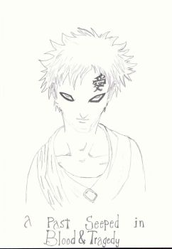 Gaara of the Sand by AkuRoosterHead