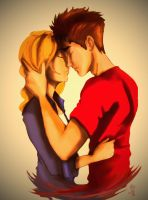 Peter and Gwen by Guchi-Girl1