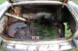 The ad said   SOME RUST IN TRUNK by finhead4ever