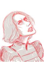 Lin Beifong-avatar sketch by chevalier-elyam