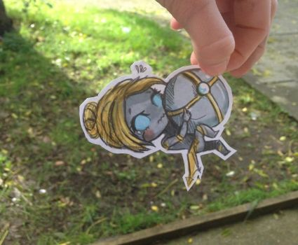 Orianna Paper doll ~ League of Legends by toxidic