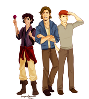 Disney Boys by annogueras