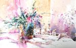 Speed Painting - Still life (pt 1) by Abstractmusiq