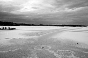 Lough Erne frozen by Indigo-squirrel