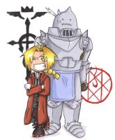 Edward and Alphonse by spuds-n-stuff