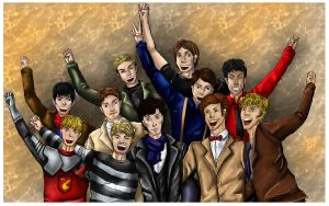 SuperWhoLock and Friends by ilyka