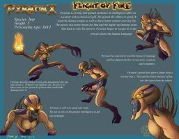 Pyranax Character Sheet Doom by Leeanix
