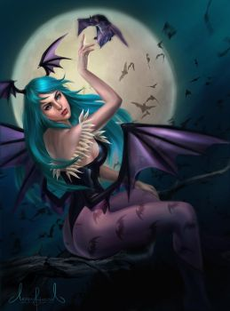 Morrigan Aensland  - Dark Stalkers - Take 2 by Tarivanima
