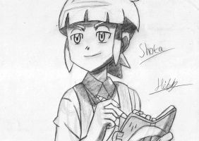 Pokemon Shota Sketch by EpicAnubisxD