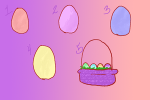 Easter eggs by InanisKisa