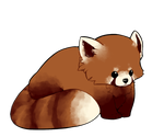 Red Panda Sorta-Chibi by Pyxelle-art