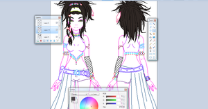 .:New OC WIP:. by alexpc901