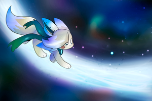 Chasing stars by Eevee-woman