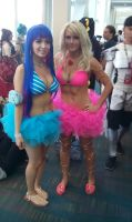 Panty and Stocking Swimsuits by coreybrown1994