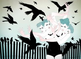 The Birds by Meluxine