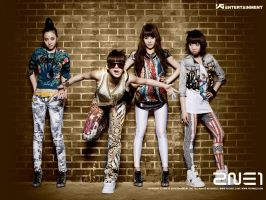 2NE1 by ihartkaninX3