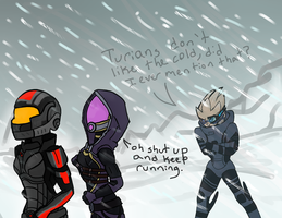 SHUT UP GARRUS by wildstar25