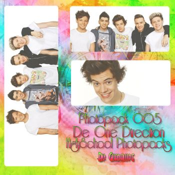 Photopack One Direction 5 by HighSchoolPacks