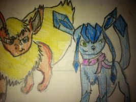 Fire and Ice?! by Katiemaye11