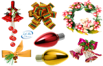 Christmas ornaments - PNG by lifeblue
