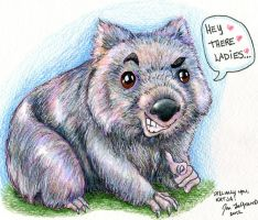 A Womanizing Wombat by Legrandzilla