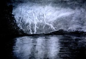 Night Storm by Flamecandle