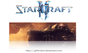 Starcraft II sign by GilfordArt