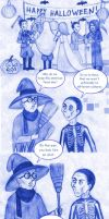 Nazis and halloween party by HerHH-Idiot