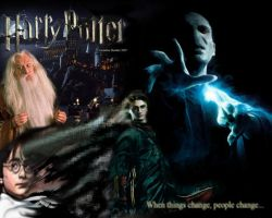 Harry Potter Change by corneliusheather