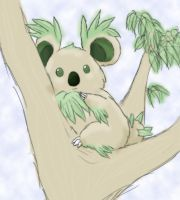 Fake Pokemon: Plant-type Koala by Overlord-Etna