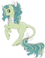 Glimmering Unicorn by Crystal-Comb
