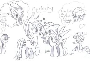 AppleShy by CradeElcin