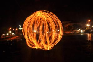 fire ball by y0h4nes