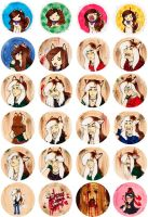 Button Collection 01 by zirio