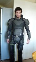 Mass Effect Shepard Armour WIP by The-Rover