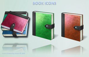 Vista book icons by tonev