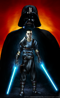 Starkiller (The force unleashed II) by AraxussYexyr